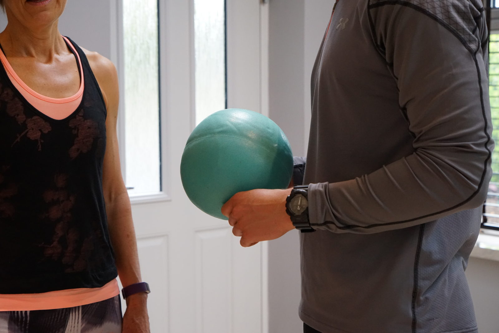 Photo of training equipment being used by a client - www.futurehealthtraining.co.uk